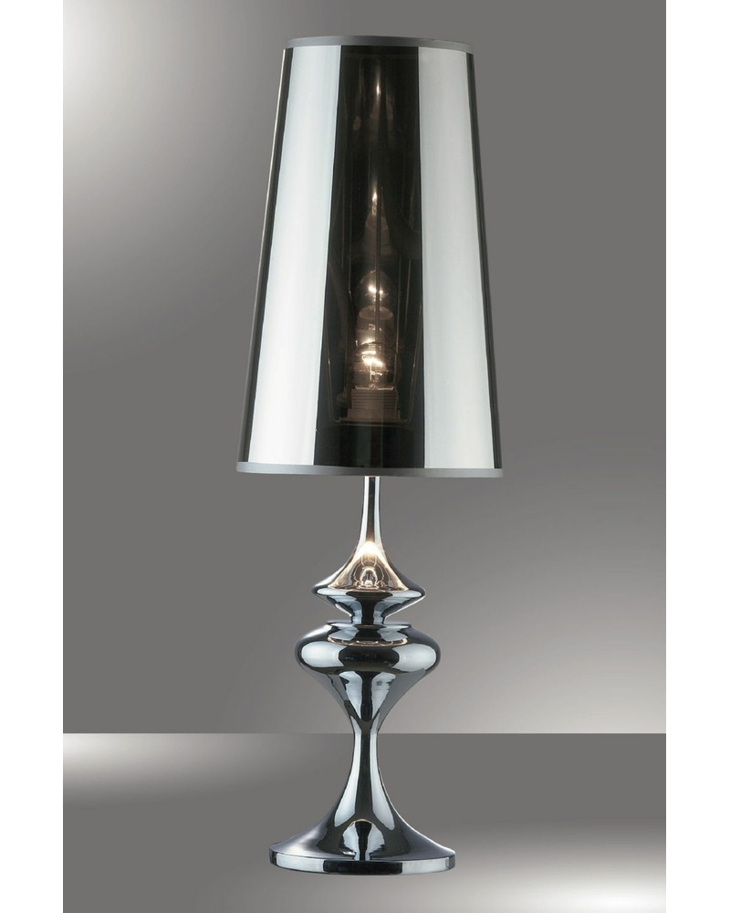 Настольная лампа Ideal Lux / Идеал Люкс ALFIERE TL1 BIG CROMO