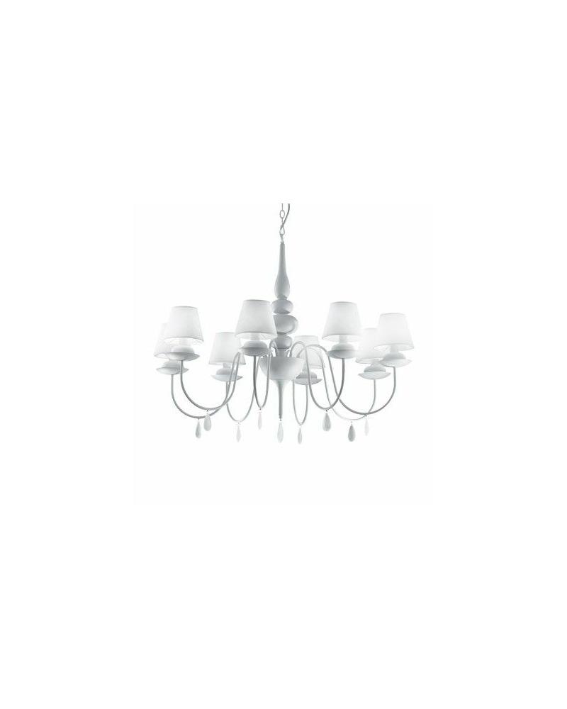 Люстра подвесная Ideal Lux / Идеал Люкс BLANCHE SP8