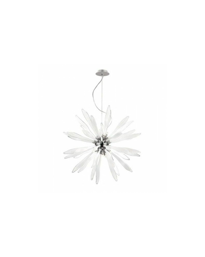 Люстра подвесная Ideal Lux / Идеал Люкс CORALLO SP12 BIANCO