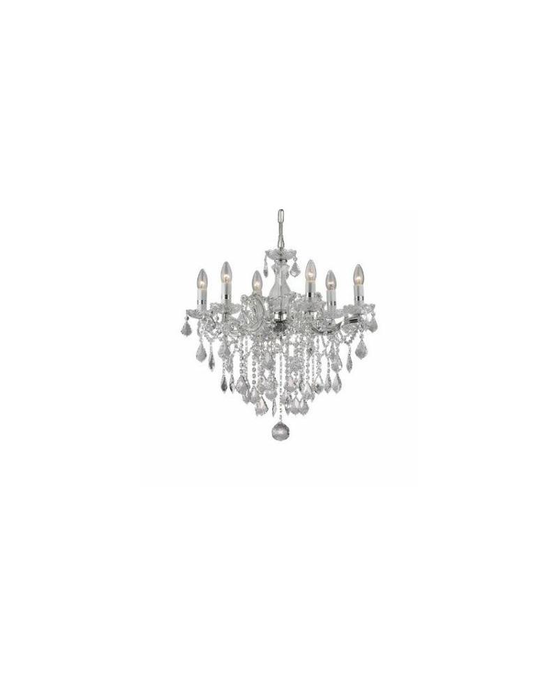 Люстра подвесная Ideal Lux / Идеал Люкс FLORIAN SP6 CROMO