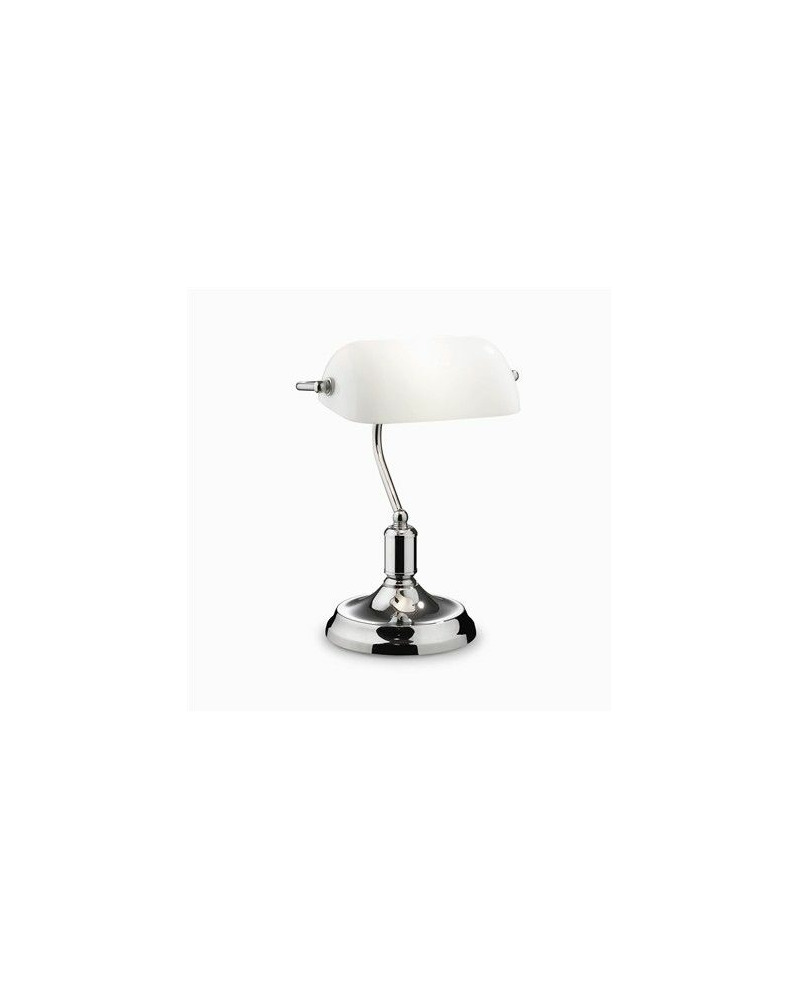 Настольная лампа Ideal Lux / Идеал Люкс LAWYER TL1 CROMO